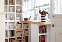 Office/Library / by Carolyn Steele