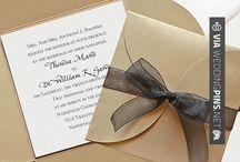 Como hacer invitaciones de boda / Como hacer invitaciones de boda!