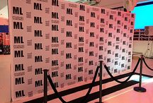 Step & Repeat Productions / Here are some great photos of recent step & repeat productions we have done for fortune 500 companies and private parties and events!