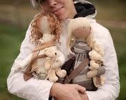 куклы  коннэ своими руками из ткани
