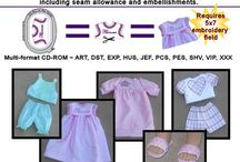 doll clothes / clothes to make for Madeline's dolls and maybe for Madeline too / by Marge Menacher