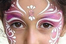 Face painting: inspiration & techniques / Ideas to try, techniques to use.