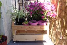 Ideas con cajas de madera / Cajas de madera -decoración