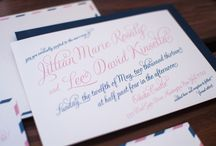 Heritage+Joy / Custom wedding invitations, destination wedding invitations, letterpress wedding invitations, save the dates, day of wedding stationery, event stationery and paper goods