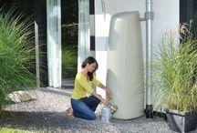 Captação de aguá de chuva!!! Rain barrel!!! / idéias geniais para armazenar a aguá de chuva!!!!