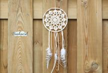 Dream catcher crochet work