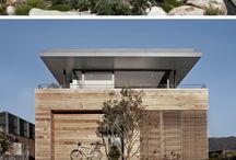 Facade houses