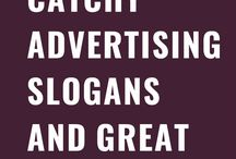 Advertising Slogans and Taglines