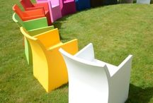 HAANS Rainbow Outdoor Chairs / The RAINBOW Collection by HAANS Lifestyle is a collection with wonderful polyethylene chairs. The name Rainbow says it all. The variety of colours and the fact that these products are 100% designed and made in The Netherlands, makes this collection unique!