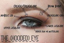 Hooded eyes