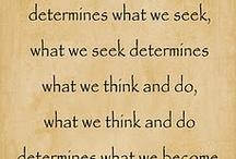 Words of Wisdom.. / by Megan Bowling