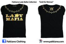 Linea Lady Mafia 2015 / Collezione Pakkiano 2015 dedicata al fumetto noir Lady Mafia