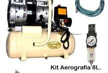 Artículos para Aerografía / Todo lo que necesitas para crear con aerógrafo. Todo tipo de complementos y piezas para la aerografía.