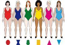 TYPY SYLWETEK KOBIECYCH....i detale / kobiece piękno.....figury....szczegóły ubioru....