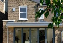 Flat roofed extensions