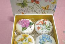 Soap decoupage