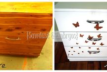 Upcycled furniture!