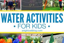 water activites for kids