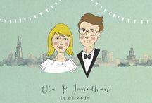 Wedding invitations / by Magdalena Pankiewicz
