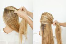 Nova experiência de penteado nos cabelos...!!!