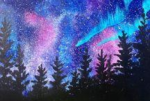 acrylık painting