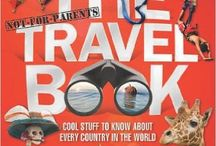 Travel guides and books to inspire travel for kids