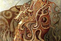 Boris Indrikov Russian Surrealist