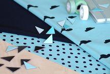 NOSH Fabrics - Autumn & Winter 2016 / Collection of NOSH AW/16 Fabrics is full of new and familiar prints, stripes and single colors. Shop online at en.nosh.fi - NOSH syksyn uutuuskankaat saatavilla verkosta nosh.fi