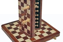 Chess wood magnetic