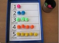 Learning Math / Toddler activities and homeschool for preschoolers