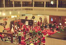 Cinnamon Grand's Santa's Workshop 2013 / Recreating the magic of Santa's Home in the North Pole for children, in a fun filled and educative workshop at Cinnamon Grand Colombo; Sri Lanka's grandest five star city hotel.  #CinnamonGrand #SriLanka #Santa #KidsWorkshop