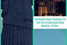 Interesting Things To Do in 9 Fascinating Brazil Cities / Here a list of the most interesting Brazil cities to consider exploring on your travels.