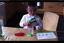 Little scientist experiments / Very simple scientific experiments that are highly educational and fun at the same time.