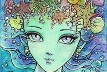 Art: Aruarian-dancer / Mitzi Sato-Wiuff
