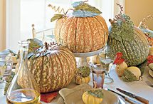 holiday crafts and centerpieces