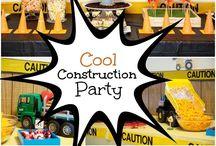 Construction Party / www.Charmios.com