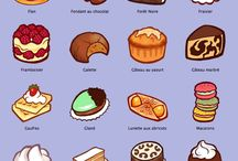 names of all france cake