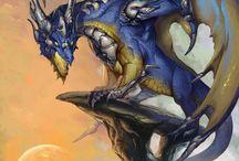 2014 Zodiac Dragons / 2014 Zodiac Dragons Calendar Artwork.