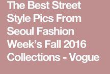 Seoul fashion week ss17