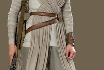 Rey's costume / Rey is such an inspiration! Female strong lead in Star Wars at last! To celebrate, I made her costume and this board helped me get it as right as I wanted to! Will pin pics of the result including the husband-made staff eventually!