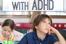 ADHD in Primary / Attention-Deficit Hyperactivity Disorder, Primary, Elementary, Students, Kids, ADHD, Intervention, ADHD Strategies, Parents and ADHD, Classroom Interventions, Kindergarten, First Grade, Special Education, Section 504