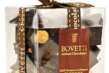 Chocolat Bovetti / Selection de chocolats Bovetti