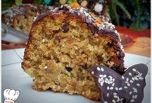 κέικ με μαύρη ζάχαρη