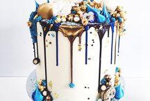 Csorgatott torták