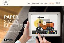 site mini docu pins / inspiratie voor website bouwe