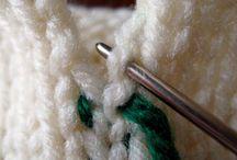 sy sammen strikke plagg