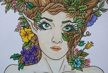 ColorIt Mythical & Fantasy Submissions / The Mythical & Fantasy coloring book features a magical world of fairies, unicorns, and mermaids in each of its pages. Enjoy these wonderful submissions from our talented ColorIt fans.