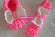 Sapatos de bebê tutorial