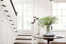 Entryways, Foyers and Stairs, Steps / by Marcella G