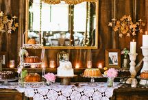 wedding dessert table / by laura crowe